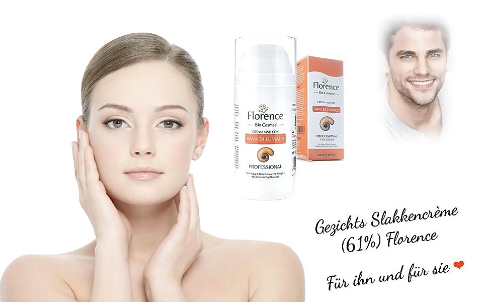 NL - Gezichts Slakkencrème Florence Organics