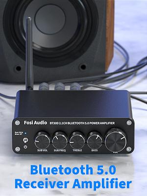 2.1 CH Bluetooth Stereo Amp Fosi Audio BT30D