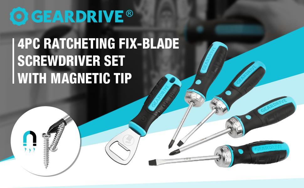 4pc ratcheting Fix-blade