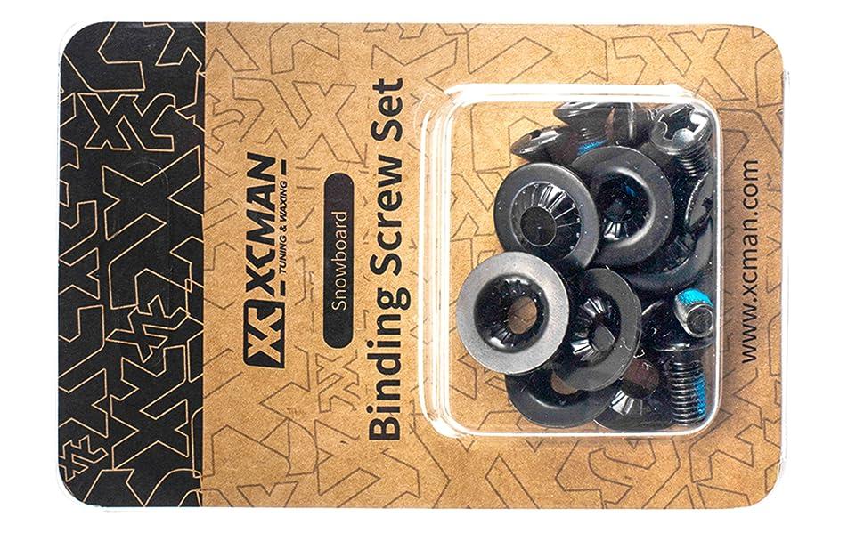 XCMAN Snowboard Binding Screw Set