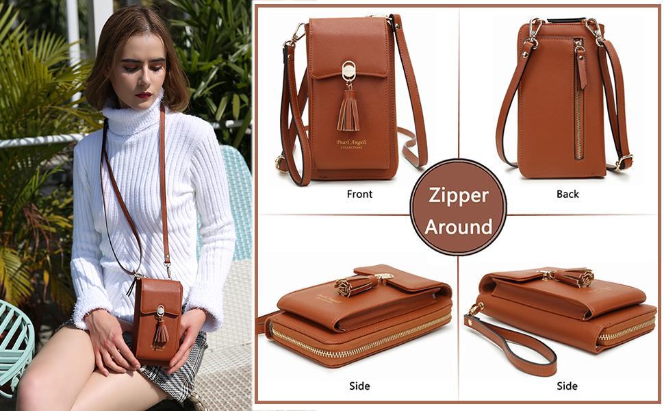 phone bag and wallet