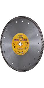 boss hog turbo diamond blade masonry concrete cutting 10 inch
