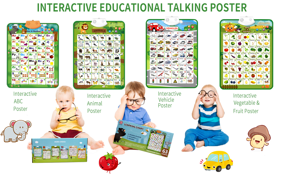 learning poster for toddlers