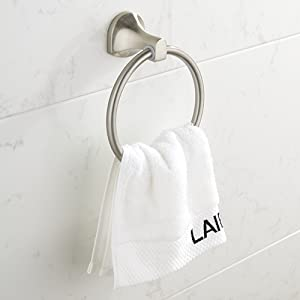 BGL Brushed Nickel Towel Ring