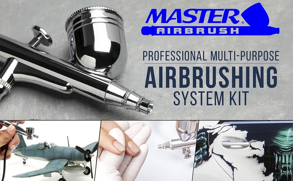 Master Airbrush Professional Multi-Purpose Airbrushing System