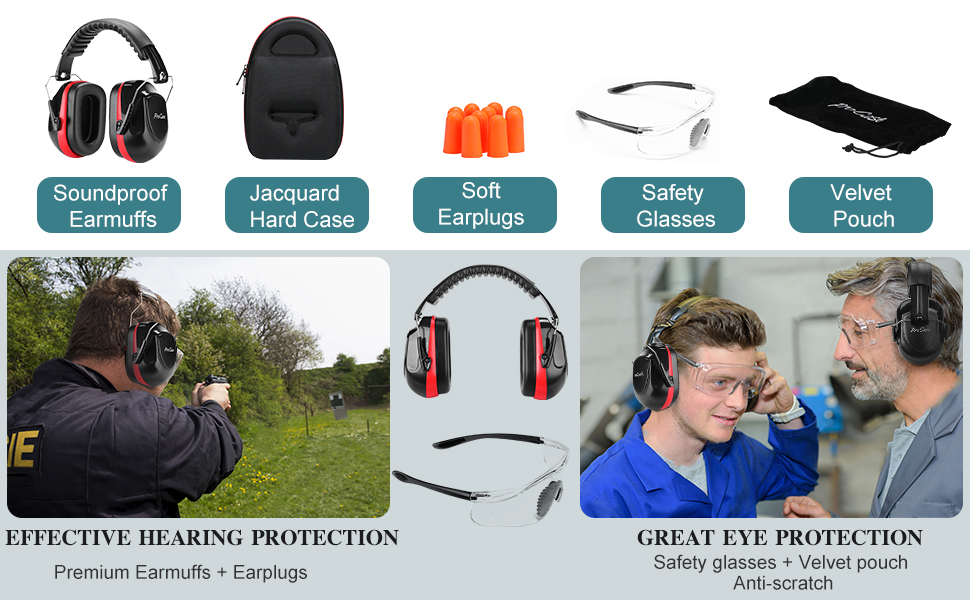 Shooting Ear Protection Earmuffs