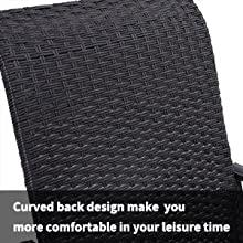 Curved Chair Back Design