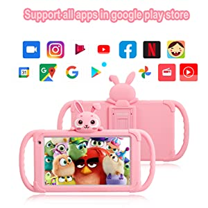 Kids Tablet 7 inch Toddler Tablet for Kids Edition Tablet with WiFi