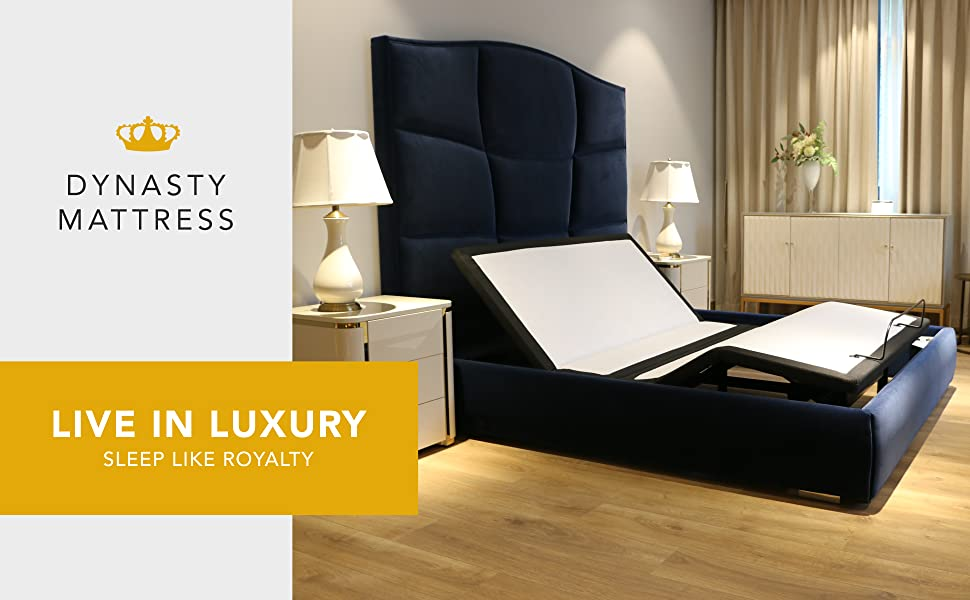 DM1000C. Dynasty Mattress. Live in Luxury, Sleep like Royalty!