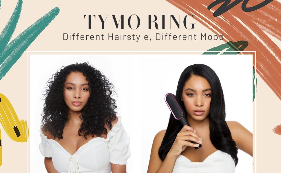 TYMO Hair Straightener Brush