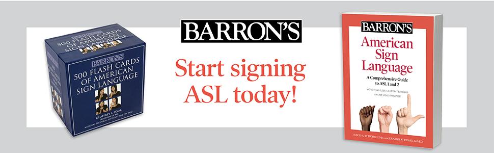 500 ASL Flashcards