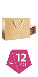 大纸袋金12P(小号扁C)