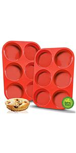 silicone muffin top pan