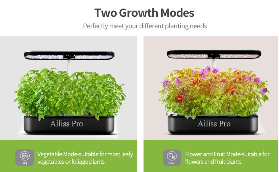tow Grow modes