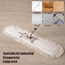 Multi Surface Use Cotton Mop Head