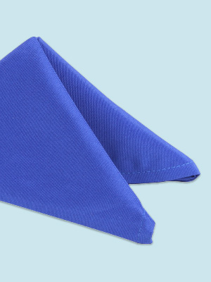 Product showcase for polyester cloth linen napkin