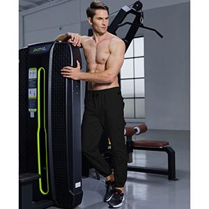 Mens Fashion Casual Cargo Pants Workout Athletic Cotton Sport Gym Pants Sweatpants Trousers