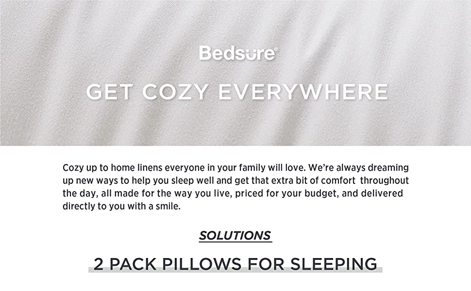 bedsure get cozy everywhere