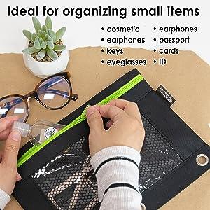 PENCIL POUCH binder pouch pencil bag