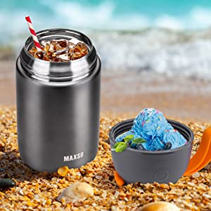 insulated food jar thermos for hot food container soup food thermos
