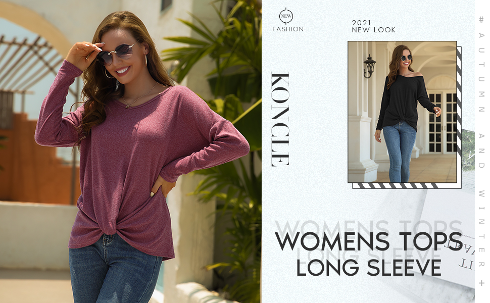 women long sleeve tops