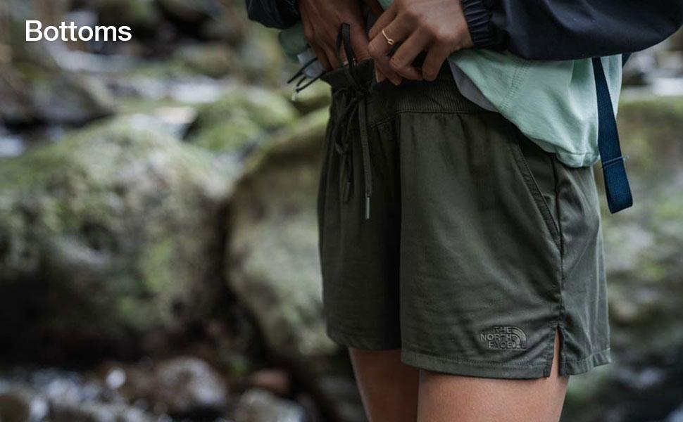 Shop shorts and pants for women from The North Face.