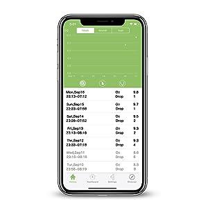 kidsO2ring-vihelath app- history data