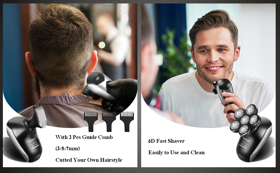 6D fast Shaver