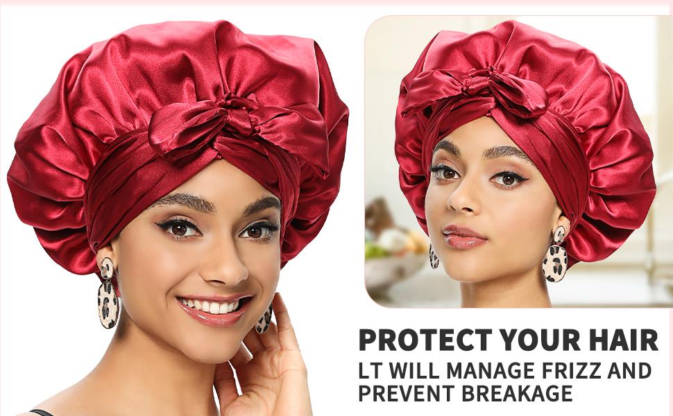 silk bonnet for black women