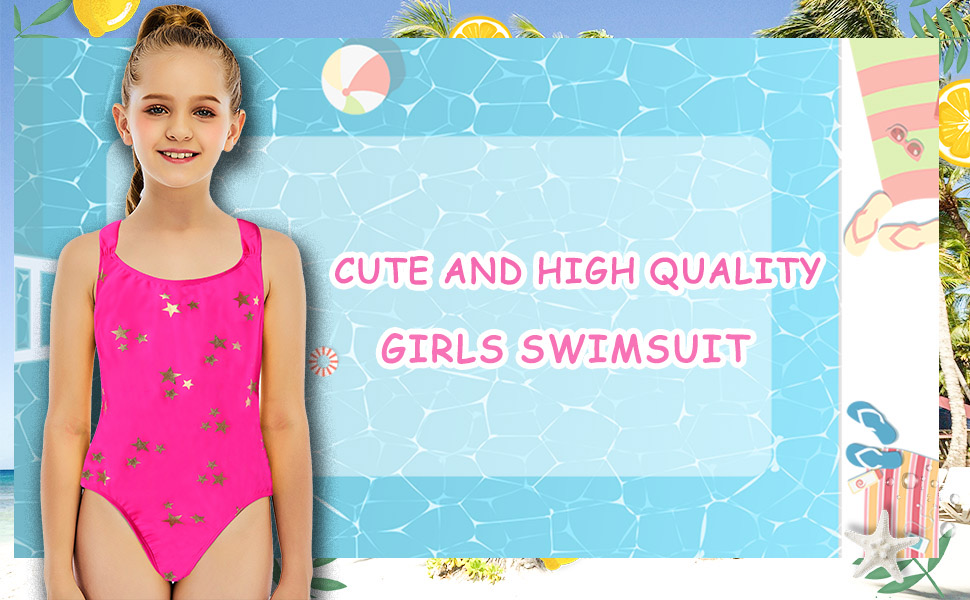 Cute and High Quality Girls Swimsuit