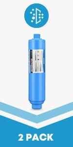 rv water filter 2 packs