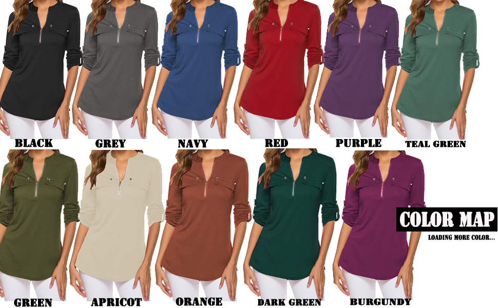 business causal tops for women