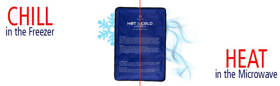 chill, heat, cold, hot, compress, heat, warm