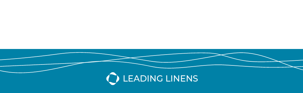 Leading Linens Logo Header Banner