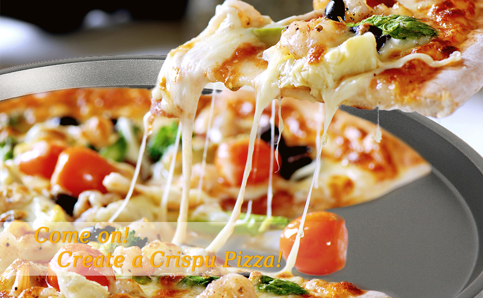 plateau à pizza en acier
