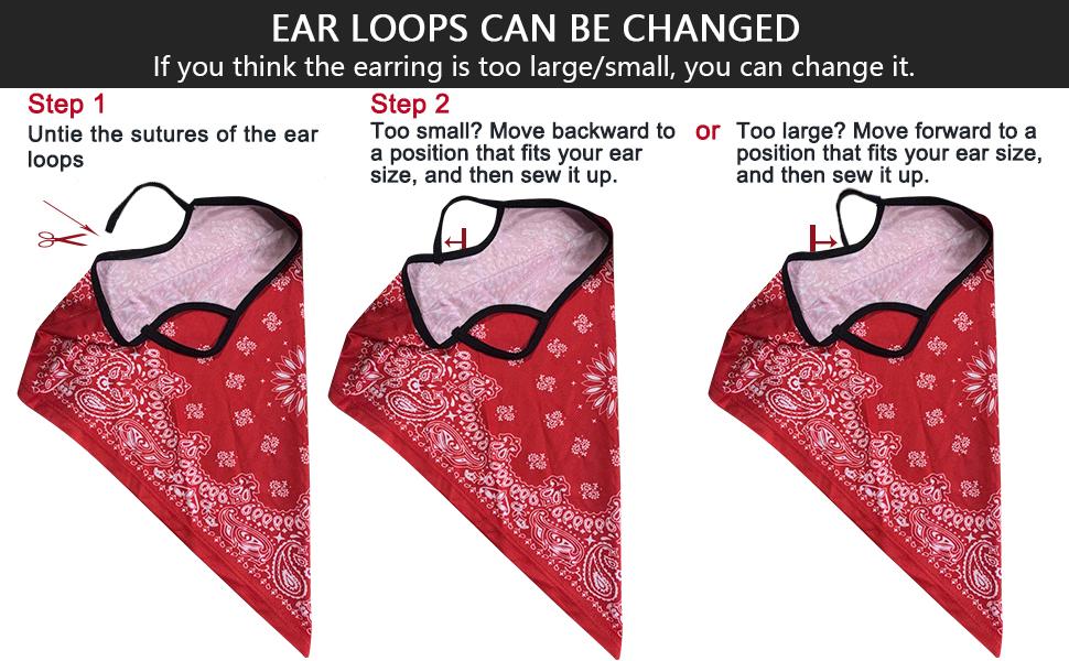 neck gaiters earloop