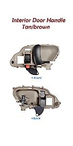 Left Interior Door Handle For 1995-2000 Chevy K3500 1996 1997 1998 1999 T268PG