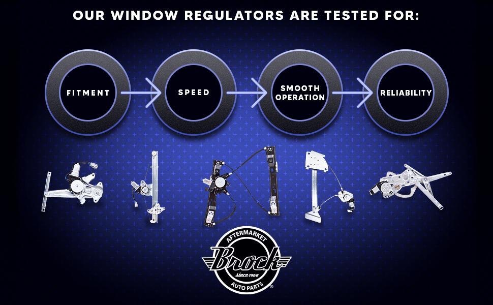 quality brock window regulators