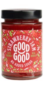 keto diabetes no added sugar natural strawberry jam