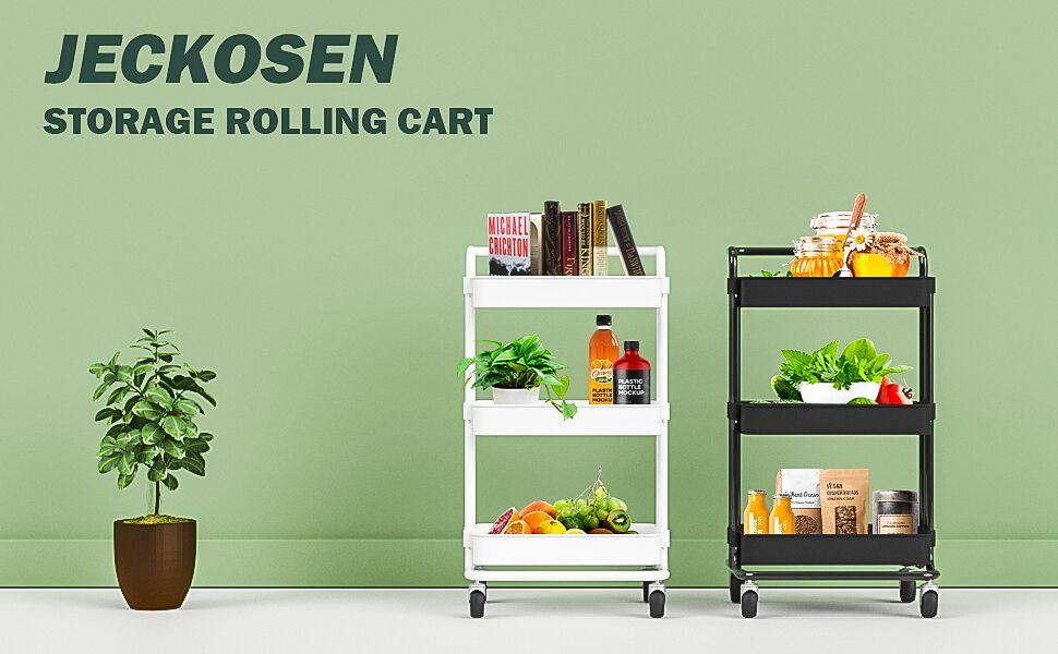 rolling cart storage cart