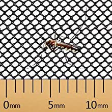 Tiny mesh keeps away insects
