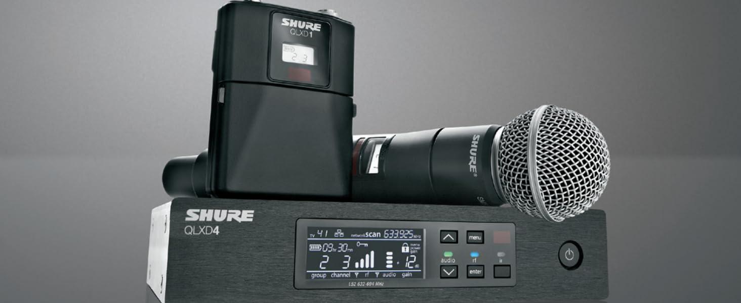 Shure QLX-D Wireless
