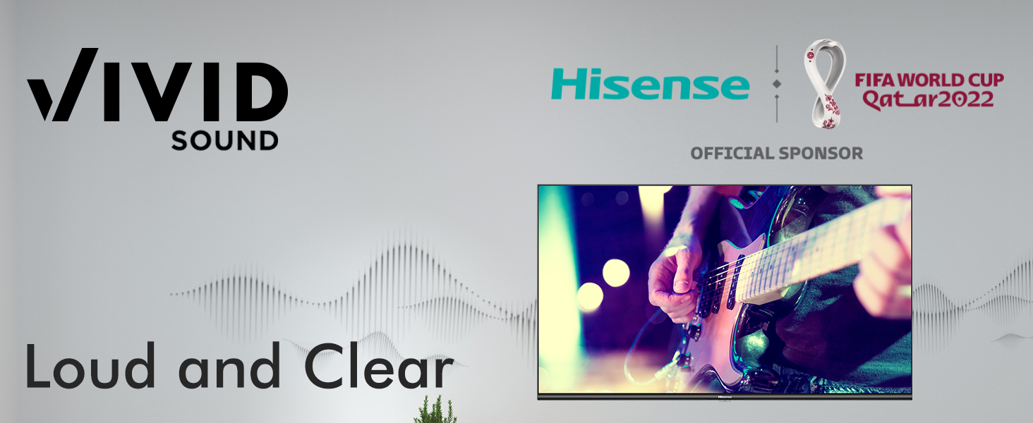 Louder impactful sound with crystal clarity for perfect listening experience