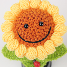 Cute smiling face