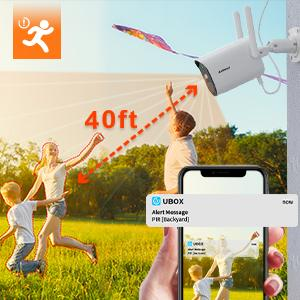 solar camera with pir motion detection and instant alert