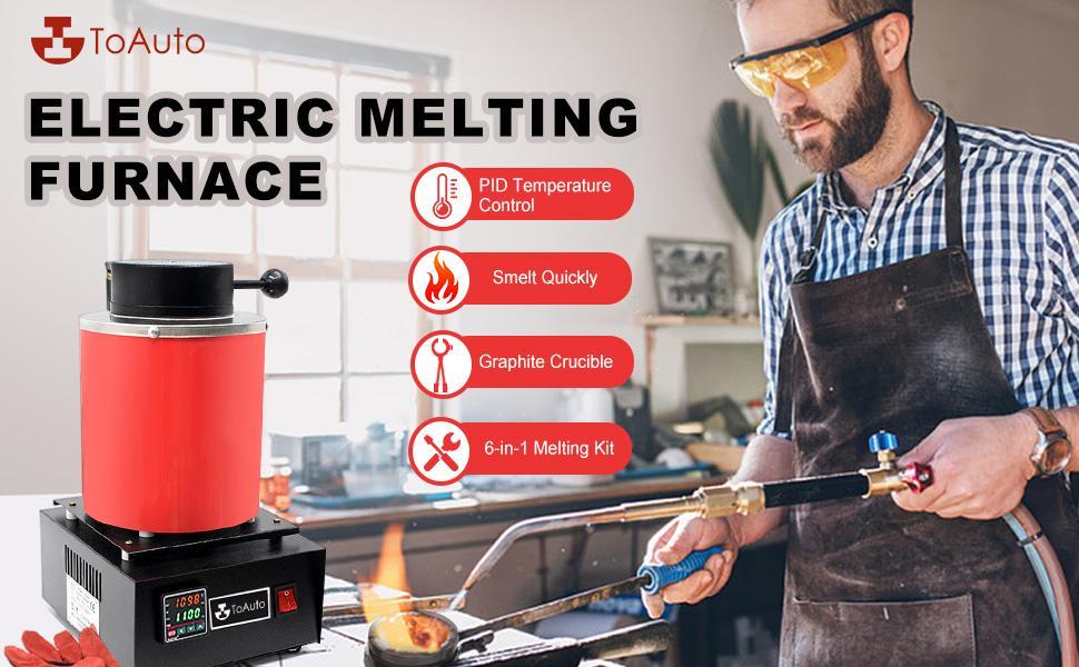 3KG Gold Melting Furnace