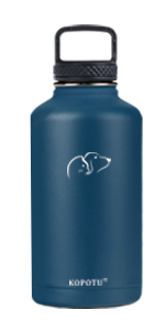 Insulated water bottle (blue)