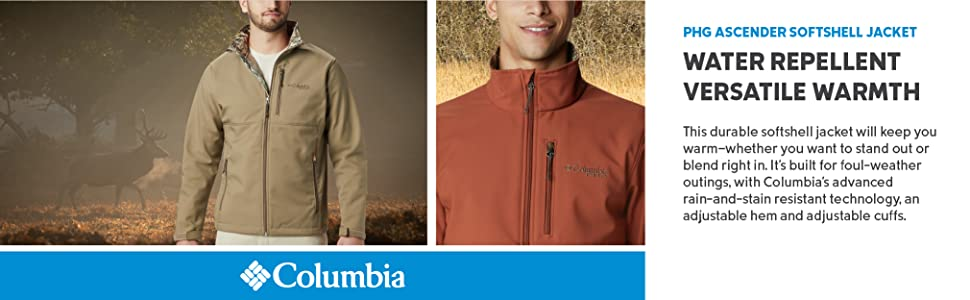 Columbia Men's PHG Ascender Softshell Jacket