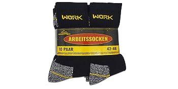 arbeitssocken herren 43-46 work socks socken für herren herrensocken schwarz