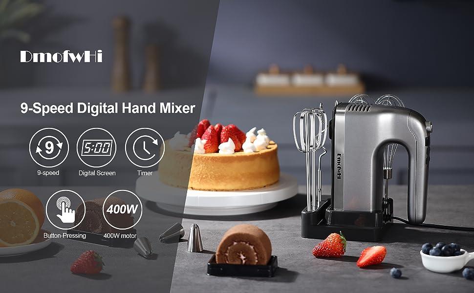 DmofwHi 9 Speed Hand Mixer
